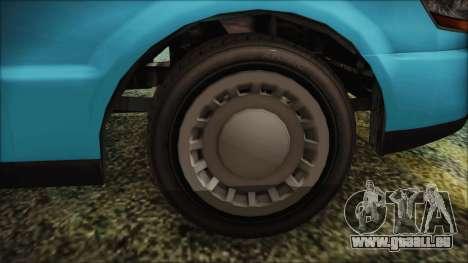GTA 5 Albany Washington pour GTA San Andreas sur la vue arrière gauche