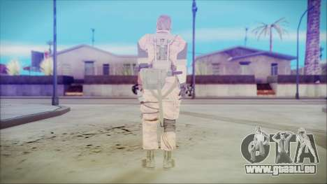 MGSV Phantom Pain Snake Normal Golden Tiger pour GTA San Andreas troisième écran