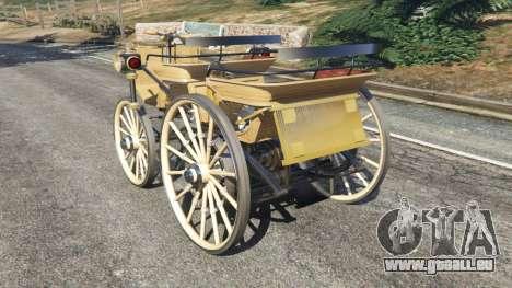 GTA 5 Daimler 1886 [wood] hinten links Seitenansicht