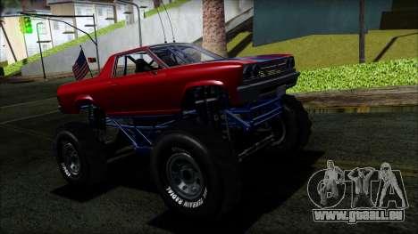 GTA 5 Cheval Marshall IVF pour GTA San Andreas
