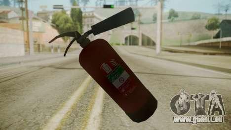 GTA 5 Fire Extinguisher pour GTA San Andreas troisième écran