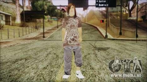 Home Girl Chola 3 pour GTA San Andreas deuxième écran