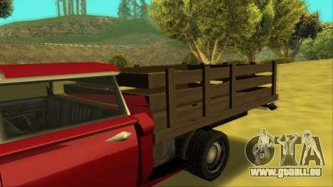 Voodoo El Camino v2 (Truck) für GTA San Andreas Seitenansicht