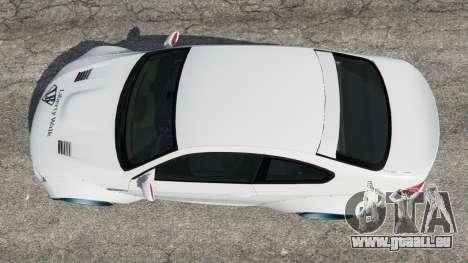 GTA 5 BMW M3 (E92) [LibertyWalk] v1.1 Rückansicht