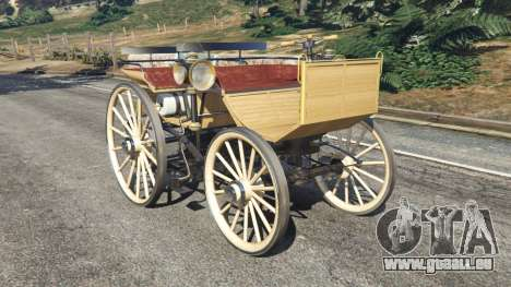 Daimler 1886 [wood] für GTA 5