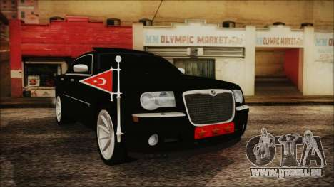 Chrysler 300С Unalturan für GTA San Andreas