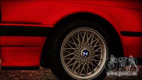 BMW M3 E30 Sedan für GTA San Andreas rechten Ansicht