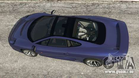 GTA 5 Jaguar XJ220 v0.9 vue arrière