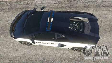 Lamborghini Aventador LP700-4 Police v5.5 für GTA 5