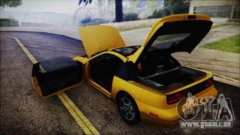 Nissan Fairlady Z Twinturbo 1993 pour GTA San Andreas vue de dessus