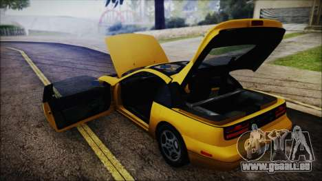 Nissan Fairlady Z Twinturbo 1993 für GTA San Andreas obere Ansicht
