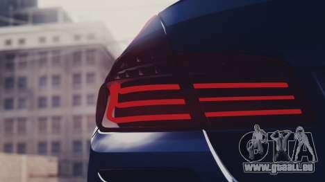 BMW M5 F10 Stock Single für GTA San Andreas rechten Ansicht