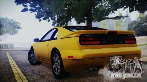 Nissan Fairlady Z Twinturbo 1993 pour GTA San Andreas vue arrière