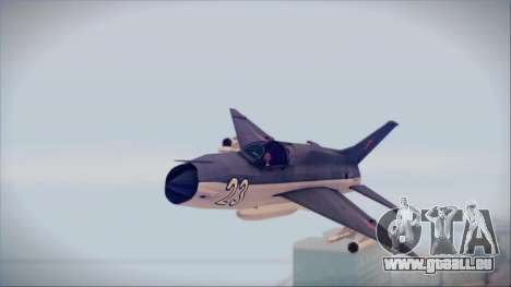 MIG-21MF URSS pour GTA San Andreas