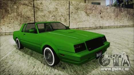 GTA 5 Willard Faction Custom für GTA San Andreas