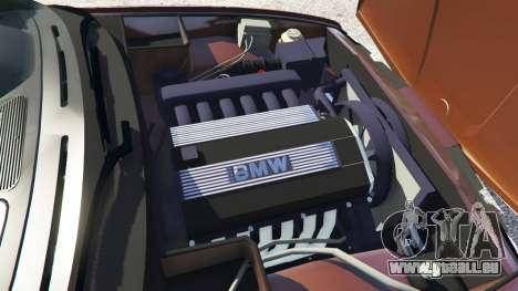 GTA 5 BMW M5 (E34) 1991 v2.0 hinten rechts