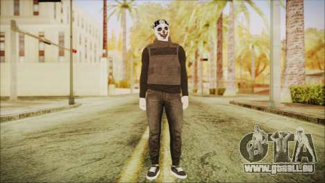 GTA Online Skin Random 2 pour GTA San Andreas deuxième écran