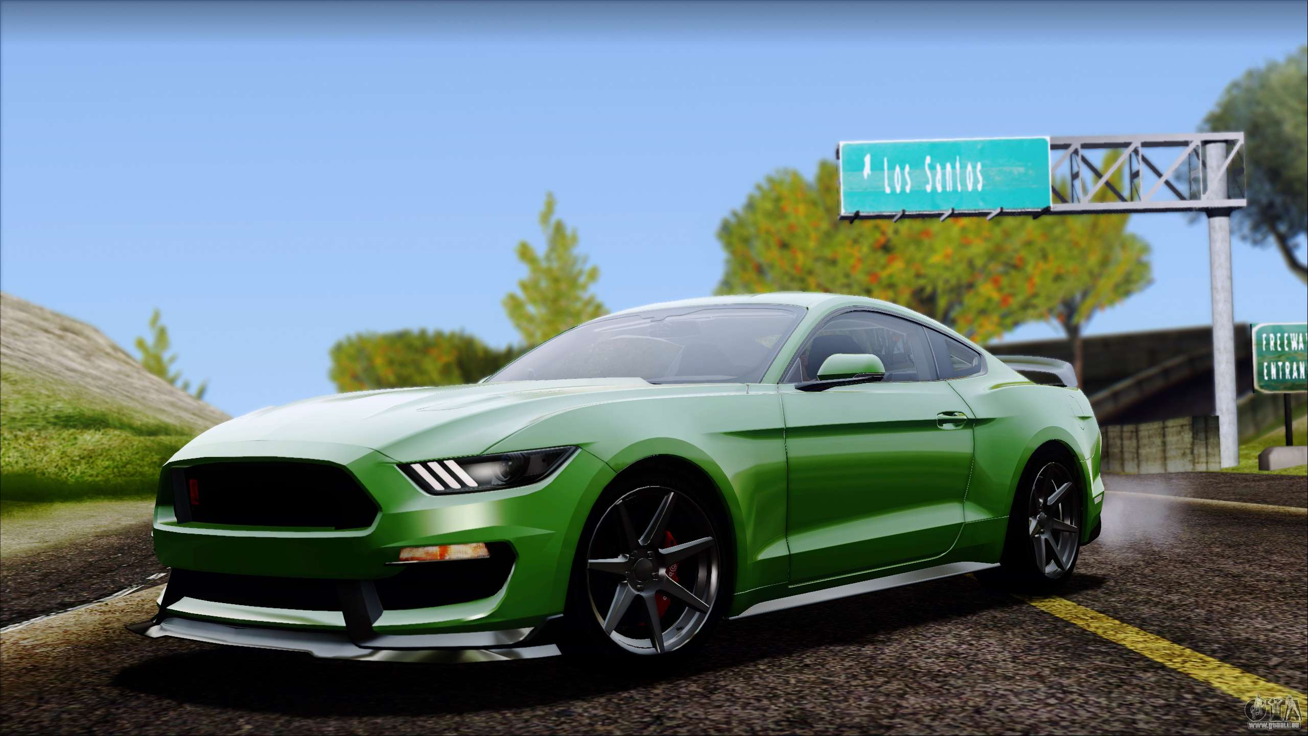 Ford Mustang Shelby Gt350r 2016 No Stripe F 252 R Gta San Andreas