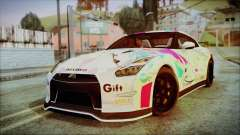 Nissan GT-R Nismo 2015 Itasha Paintjobs pour GTA San Andreas