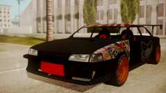 Sultan Full of Stickers pour GTA San Andreas