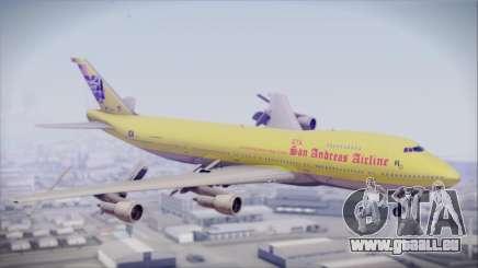 Boeing 747-200 GTA SA Airline für GTA San Andreas