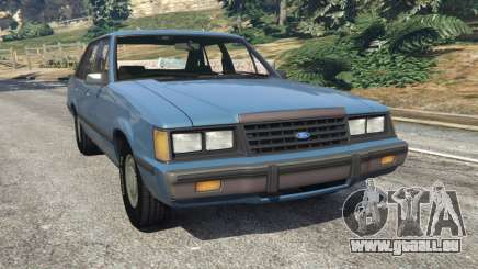 Ford LTD LX 1985 für GTA 5