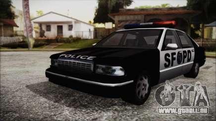 Beta SFPD Cruiser pour GTA San Andreas