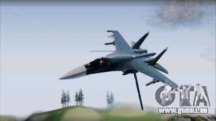 SU-35 Russian Air Force Modern Livery pour GTA San Andreas