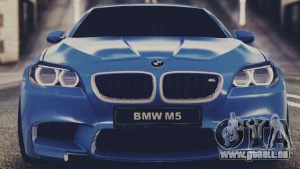 BMW M5 F10 Stock Single pour GTA San Andreas