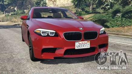 BMW 535i 2012 pour GTA 5