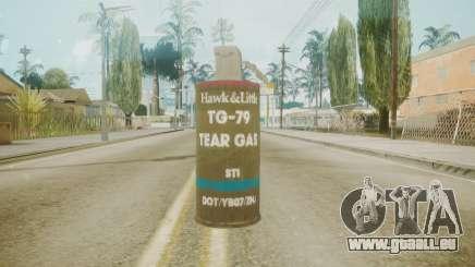GTA 5 Tear Gas pour GTA San Andreas