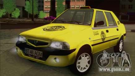 Dacia Solenza Taxi pour GTA San Andreas