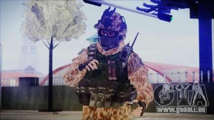 MW2 Russian Airborne Troop Desert Camo v4 pour GTA San Andreas