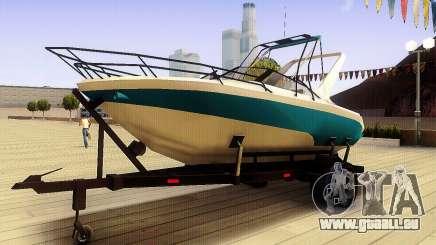 GTA V Boat Trailer pour GTA San Andreas