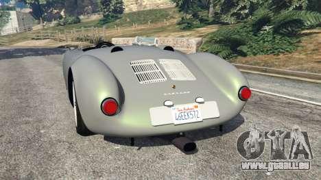 GTA 5 Porsche 550A Spyder 1956 hinten links Seitenansicht