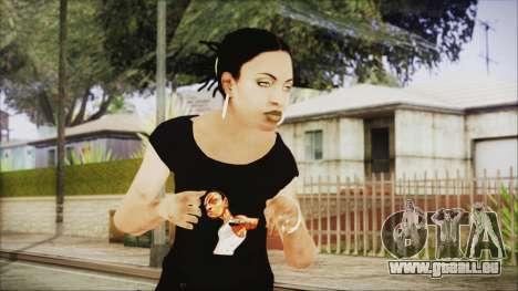 Left 4 Dead Rochelle für GTA San Andreas