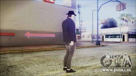 GTA Online Skin 49 pour GTA San Andreas troisième écran