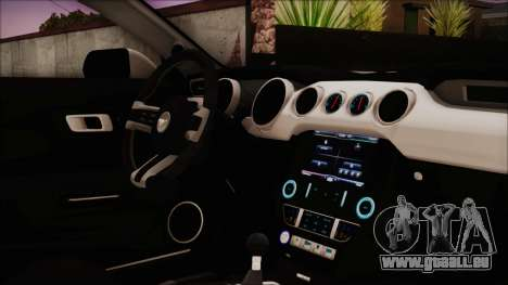 Ford Mustang Shelby GT350R 2016 Kirito Itasha für GTA San Andreas rechten Ansicht