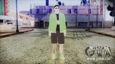 GTA Online Skin 44 pour GTA San Andreas deuxième écran