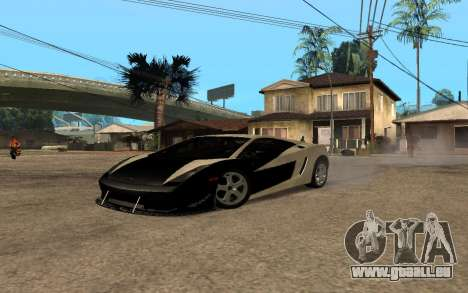 Lamborghini Gallardo Tunable v2 für GTA San Andreas