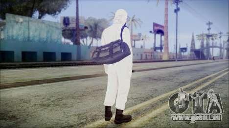 GTA 5 Online The Heist Gasmask Yellow pour GTA San Andreas troisième écran