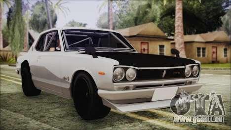 Nissan Skyline GT-R Hakosuka für GTA San Andreas