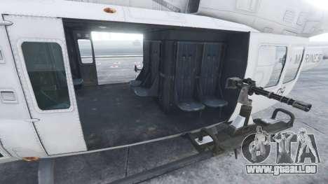 GTA 5 Bell UH-1Y Venom v1.1 sixième capture d'écran