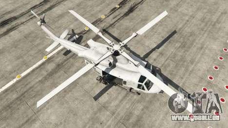 GTA 5 Bell UH-1Y Venom v1.1 quatrième capture d'écran