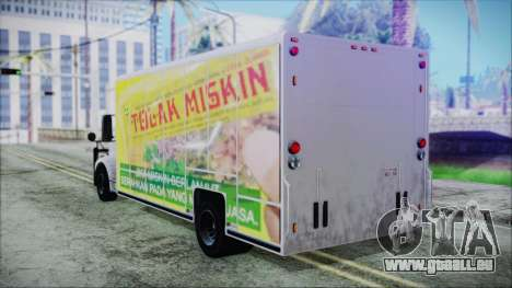 Indonesian Benson Truck Not In Real Life Version für GTA San Andreas linke Ansicht