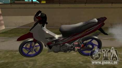 Yamaha 125z für GTA San Andreas rechten Ansicht