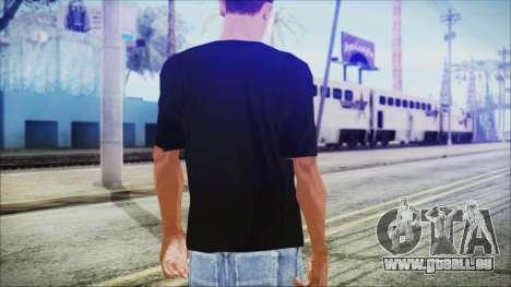 Santa T-Shirt pour GTA San Andreas troisième écran