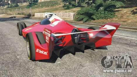 GTA 5 Ferrari F1 Concept hinten links Seitenansicht