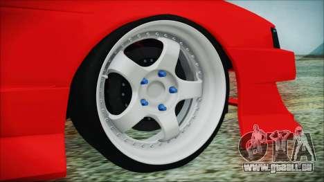 Nissan Silvia S13 Facelift S14kouki pour GTA San Andreas sur la vue arrière gauche