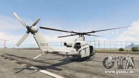 GTA 5 Bell UH-1Y Venom v1.1 troisième capture d'écran
